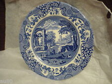 SPODE   Blue Italian bred and butter plate  Made in England NWT! Gorgeous!