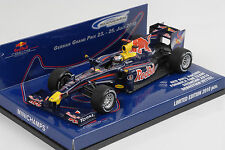 Formel 1 Red Bull Racing RB5 Vettel Showcar Hockenheimring 2010 1:43 Minichamps