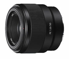 Sony SEL 50 mm F/1.8 FE For Sony - Black