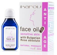 Face Oil Sensitive Skin Ikarov 30ml with Bulgarian Rose, almond, avocado oils