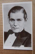 Vintage film star  postcard / lobby card Clark Gable