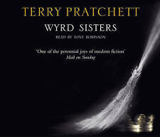 TERRY PRATCHETT - WYRD SISTERS CD.Read By Tony Robinson