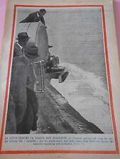 Lutte contre la fraude aux Etats Unis litres de lait jetés East River Print 1936