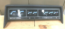 *1989 Four Winns Horizon 190 Dash board Gauge Panel w/ Squre Instrument Gauges