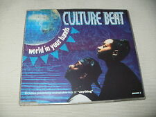 CULTURE BEAT - WORLD IN YOUR HANDS - 4 MIX DANCE CD SINGLE