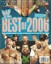WWE Wrestling Magazine January 2007 Best of 2006 John Cena Jeff Hardy Batista
