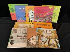 Let's Read and Find Out Science Children's Books 1962-1974 Illustrated Lot of 11