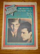 RECORD MIRROR 1981 AUG 29 ORCHESTRAL MANOEUVRES GENESIS