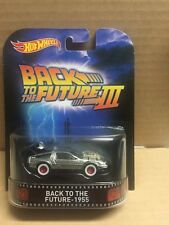 HOT WHEELS RETRO EXCLUSIVE TIME MACHINE III BACK TO THE FUTURE 1955 NEW