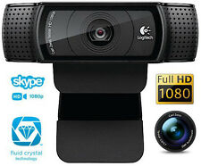 Logitech HD Webcam C920 1080p video Autofocus Carl Zeiss optics 15MP CAMERA New