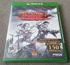 Microsoft XBOX One: DIVINITY ORIGINAL SIN ENHANCED EDITION Factory Sealed New