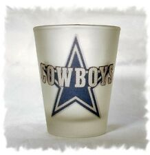 Dallas Cowboys Frosted Shot Glass