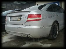 Audi A6 C6 4F Rear Boot Lip Spoiler ~PRIMED & PREPARED~