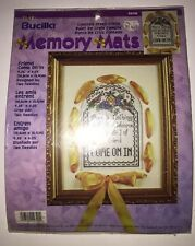 """Bucilla Memory Mats Counted Cross-Stitch Kit  Friend Come On In 4.25"""" x 6.25"""""""