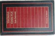 LOS HÉROES- BIBLIOTECA DE HISTORIA ORBIS - 1985 - 300 PÁGINAS - VER ÍNDICE