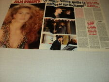 G234 JULIA ROBERTS LYLE LOVETT '1994 FRENCH CLIPPING