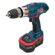 Silverline Silverstorm Cordless Combi Hammer Drill 24V With Accessories and Case