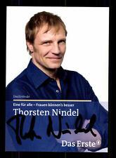 Thorsten Nindel Eine für alle Autogrammkarte Original Signiert # BC 66711