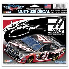 """KURT BUSCH #41 HAAS AUTOMATION INC NASCAR MULTI-USE DECAL 6""""X 5"""""""