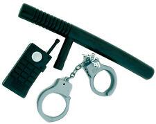 Polizei Set 3-teilig NEU - Zubehör Accessoire Karneval Fasching
