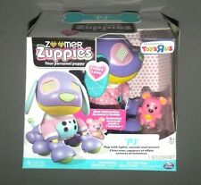 Zoomer Zuppies PJ Zuppy Love Puppy Dog w Interactive Accessory Lights Sound
