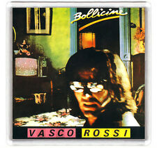 VASCO ROSSI - BOLLICINE LP COVER FRIDGE MAGNET IMAN NEVERA