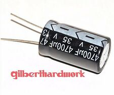 10pcs Electrolytic capacitor 35V 4700UF 18*30mm