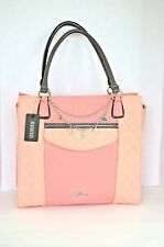 Guess Tote Handbag Cha Cha Bag Blush Multi
