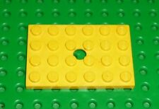LEGO - YELLOW - Plate, 4 x 6 Modified with Hole, x 1 (709) YL68