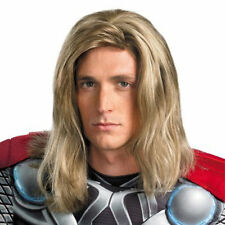 Avengers Thor Blonde Mix Men's Halloween Cosplay Wigs Hair Synthetic Wig NEW