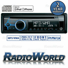 Clarion CZ102E Car Stereo Headunit Radio CD Player MP3 / AUX / iPod / iPhone WMA