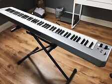 M Audio KeyStation 88es Semi-weighted USB MIDI Controller with stand