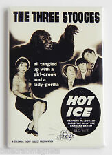 Three Stooges in Hot Ice FRIDGE MAGNET (2 x 3 inches) movie poster