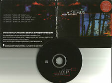 KARL JENKINS Adiemus cantata mundi  4 RARE EDIT EUROPE made PROMO DJ CD single