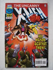 X-MEN UNCANNY #333 MARVEL COMIC ONSLAUGHT APPS JUNE 1996