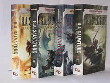 The Neverwinter Saga 1-4 / Legend of Drizzt Books 23-26 by R.A. Salvatore