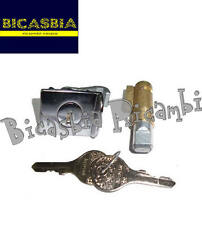 2056 - KIT SERRATURE STERZO BAULETTO 4 MM VESPA 125 TS - 180 200 RALLY BICASBIA