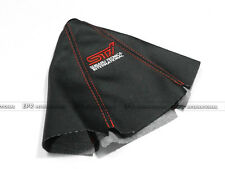 For Subaru STI Leather Gear Shift Knob Gaiter Glove Cover Red Stitch JDM Car Pop