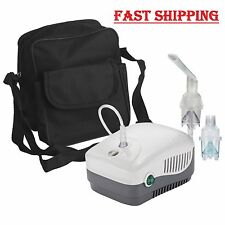 MedNeb Airial Compressor Nebulizer Machine with Carry Bag + Reusable Kit