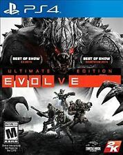 PS4 EVOLVE Ultimate Edition NEW Sealed Region Free USA