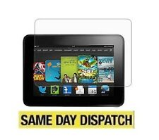 "3 X NEW Amazon Kindle Fire HD 7"" 2013 2nd Clear LCD Screen Protectors Film&Cloth"