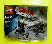 Lego 30281 The Lego Movie Micro Manager Battle Polybag Neu Ovp