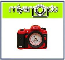 Creative Dslr Camera Design Alarm Clock (Red)