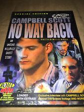 No Way Back NEW DVD Campbell Scott Troma Fillm Cult Horror Movie Classic