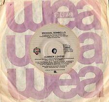 """MICHAEL SEMBELLO - SUMMER LOVERS - 7"""" 45 VINYL RECORD - 1982"""