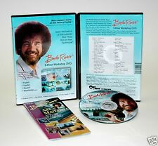 Bob Ross 3 Hour Workshop DVD Wet-On-Wet Techinque ~ NEW