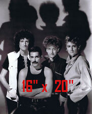 "Queen~Freddie Mercury~Brian May~Group~Poster~Photo~16"" x  20"""