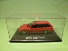 SCHUCO BMW 528i TOURING - E39 - RED 1:43 - EXCELLENT IN BOX