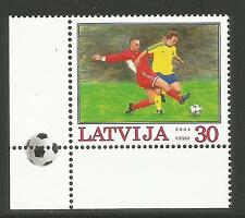 Latvia 2004 European Soccer Championships--Attractive Sports Topical (595) MNH