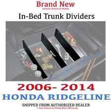 Genuine OEM Honda Ridgeline In-Bed Trunk Dividers 2006-2014